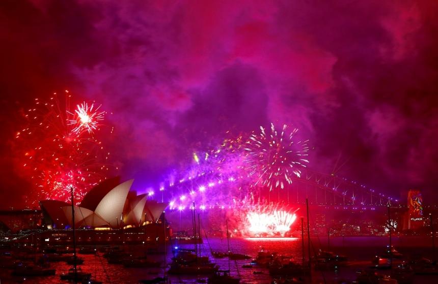 Какая страна первой встречает новый год